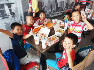 Taiwan gives back to families